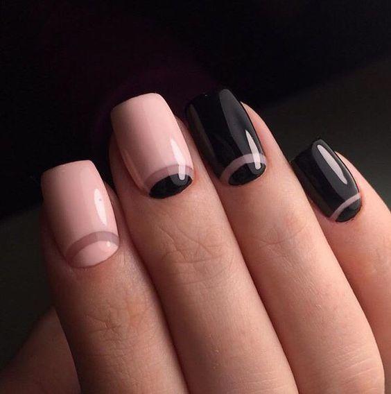 Тренд сезона — лунный маникюр! 34 идеи стильного дизайна ногтей