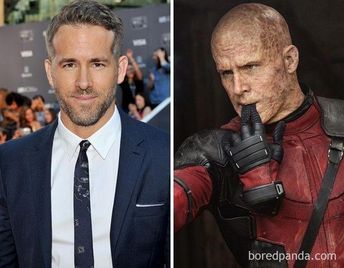 25 самых невероятных перевоплощений актёров при помощи грима