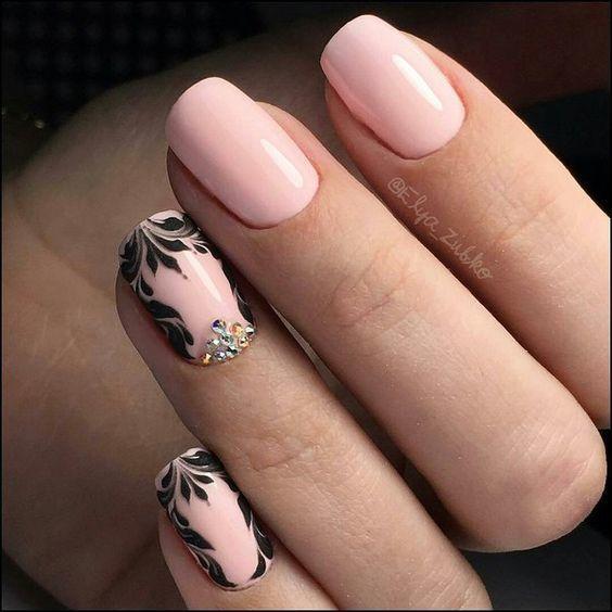 Модные тренды на короткие ногти этого года!