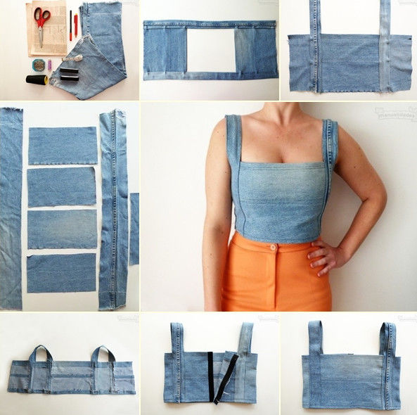 Вот почему не надо выбрасывать старые джинсы. 25 эксклюзивных идей!