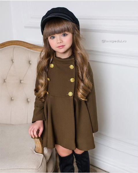Пятилетняя модель поражает модный мир своими фотографиями из Instagram