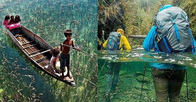 5 удивительных водоемов с кристально чистой водой!